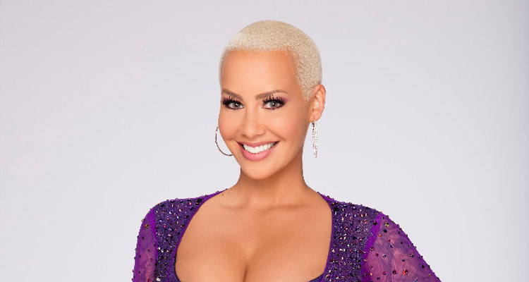 Amber on Dancing with the Stars