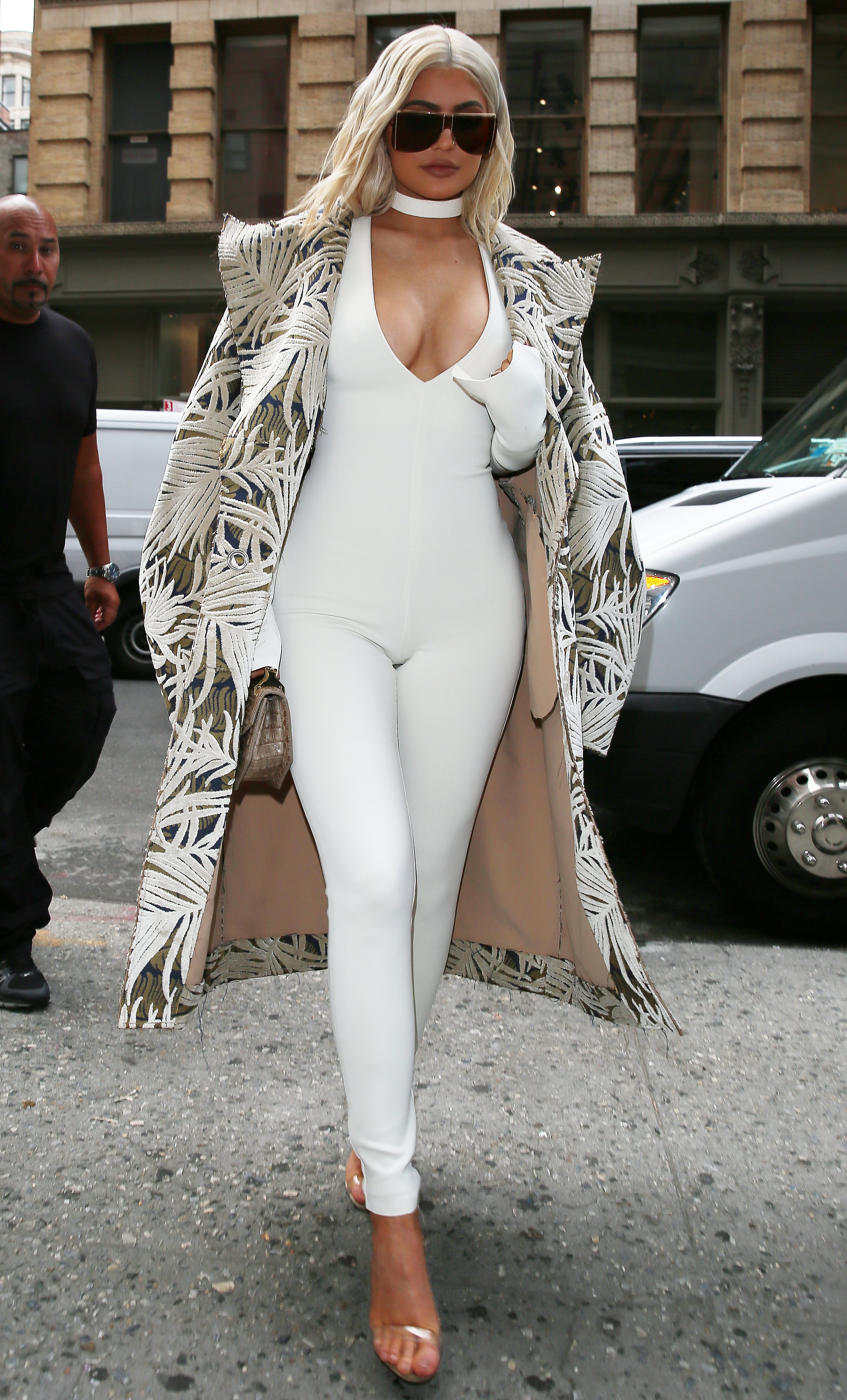 Pics Kylie Jenner S Hot Jumpsuit Pics At The New York
