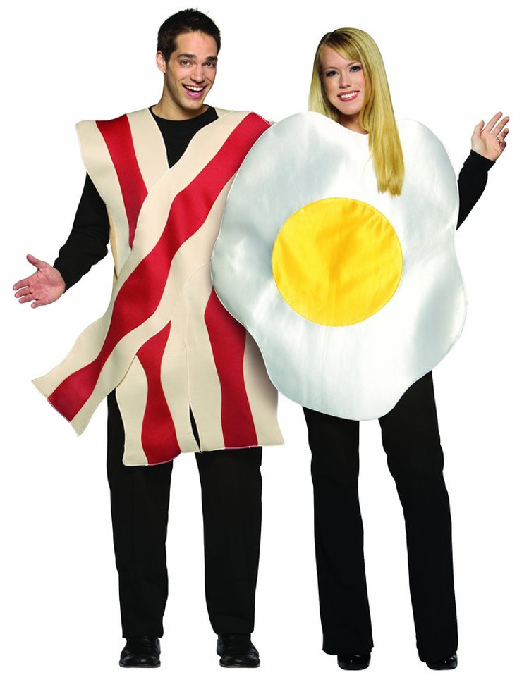 Bacon and Eggs Halloween costumes