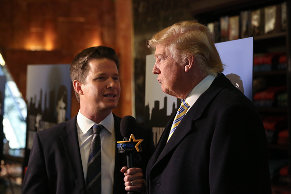 Billy Bush & Donald Trump