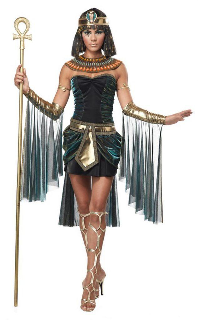 Egyptian Royals Goddess Halloween Costumes