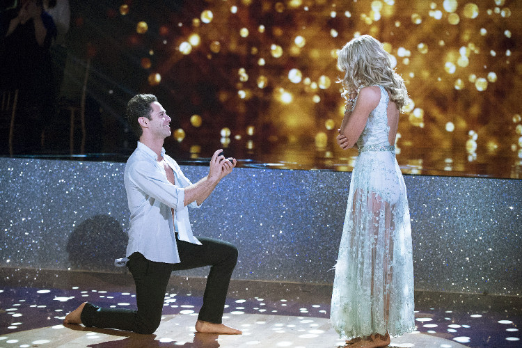 Emma Slater & Sasha Farber are engaged