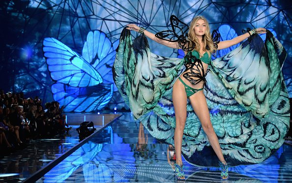 Gigi Hadid 2015 Victoria's Secret Fashion Show - Show
