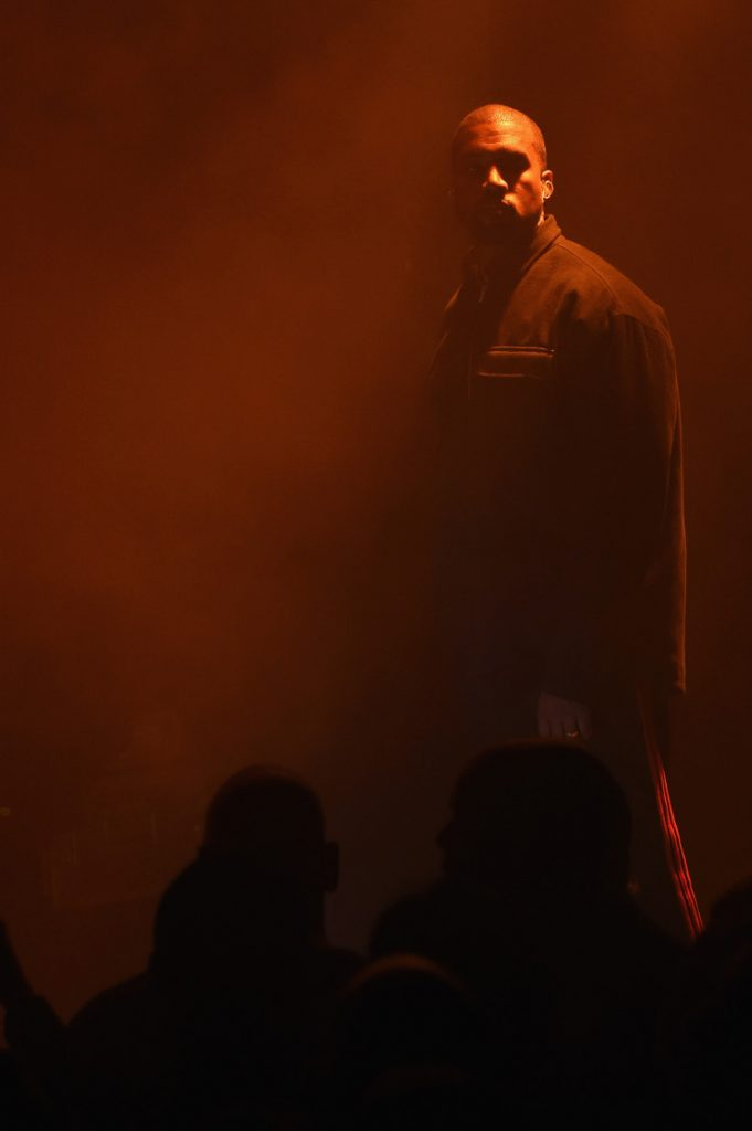 Kanye West Was Performing in New York