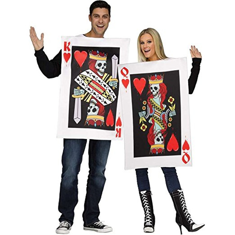 King and Queen of Hearts Halloween Costume