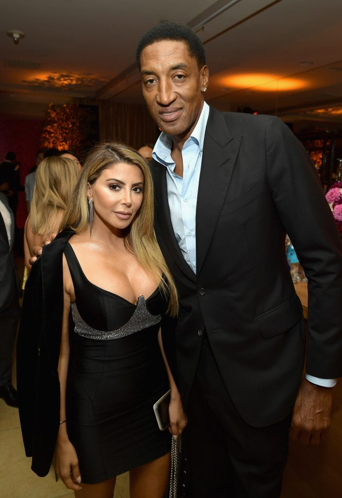 Larsa Younan and Scottie Pippen attend the 2017 Entertainment Weekly Pre-Emmy Party at Sunset Tower