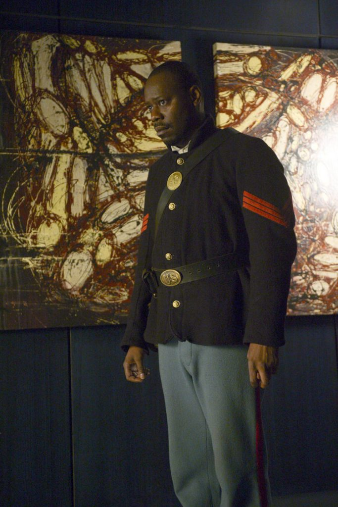 Malcolm Barrett in Timeless