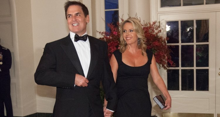 Mark Cuban & wife, Tiffany Stewart