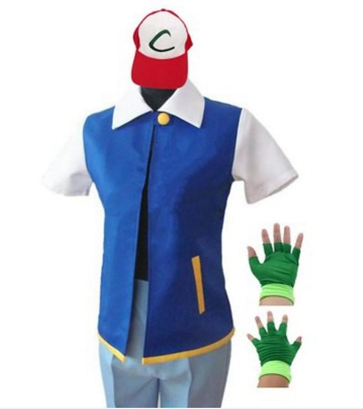 Pokemon Ash Ketchum Halloween Costumes