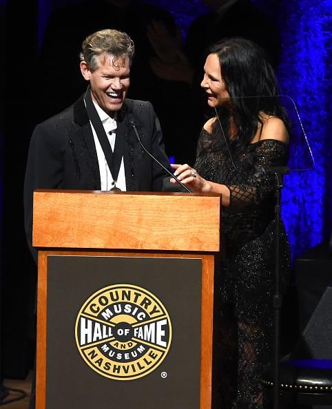 Randy Travis & Mary Davis