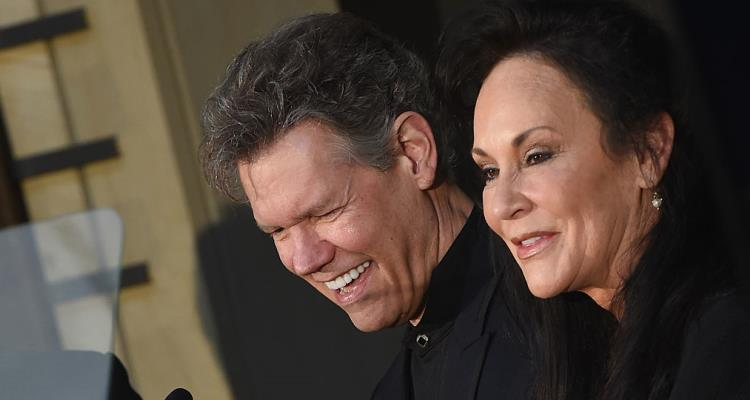 Randy Travis and Mary Davis