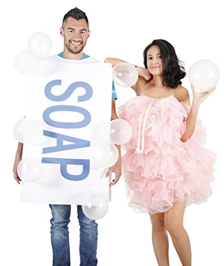 Soapy Couple Halloween Costumes