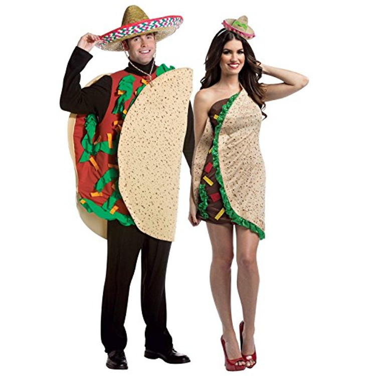 Taco Couple Costume