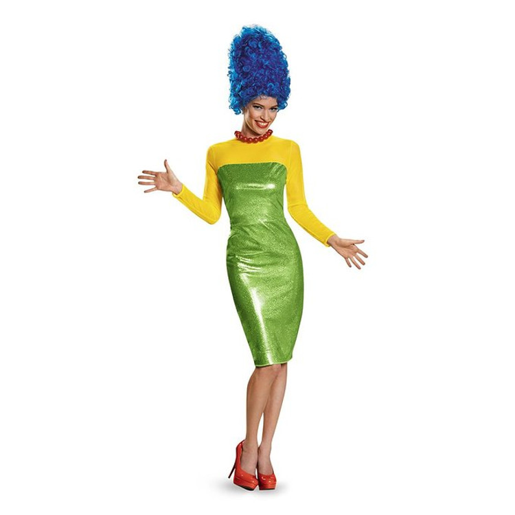 The Simpsons Marge Halloween costumes