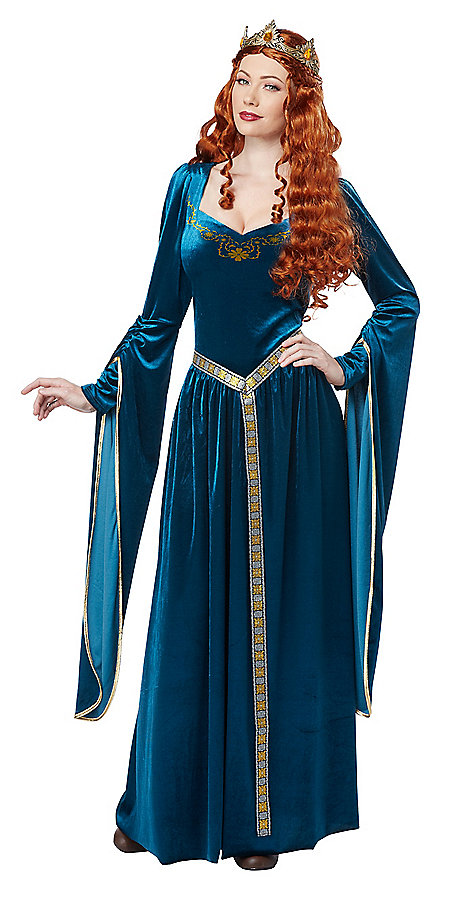 adult lady guinevere halloween costume