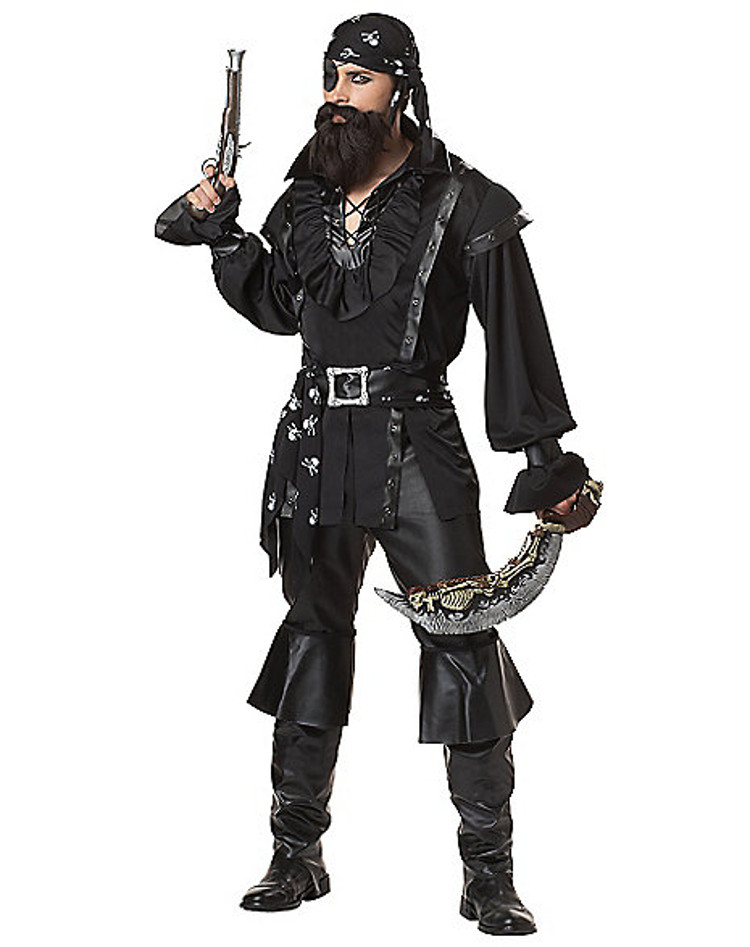 adult plundering pirate halloween costume