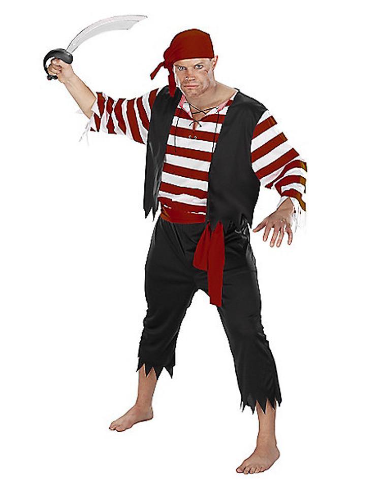 adult seven seas mate pirate halloween costume