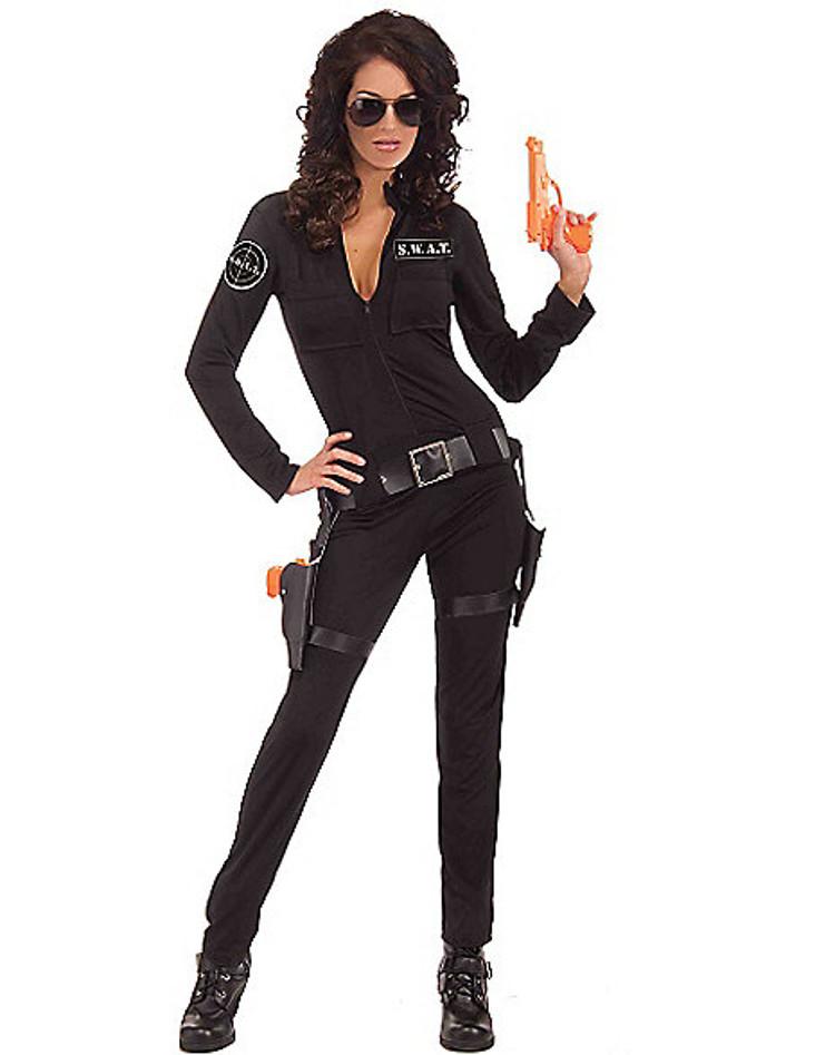 adult sexy swat costume