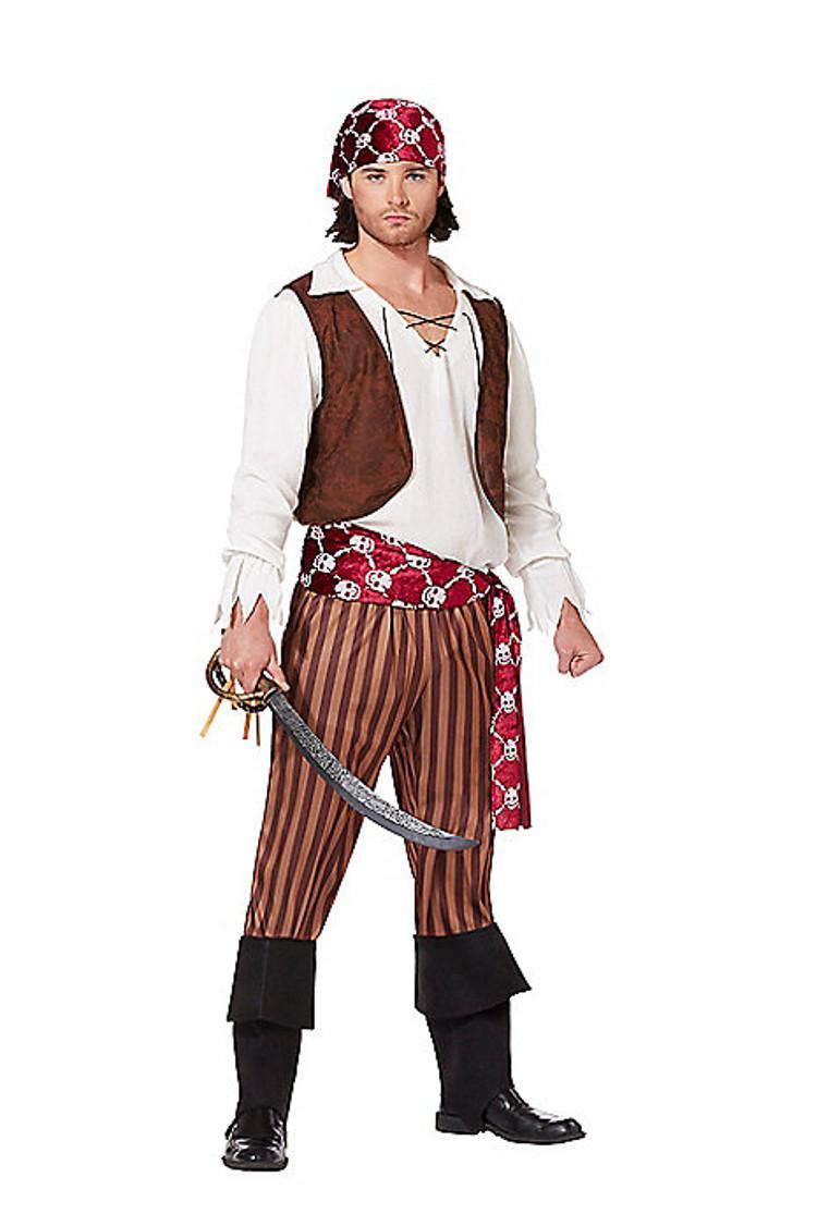 adult shipwreck pirate halloween costume