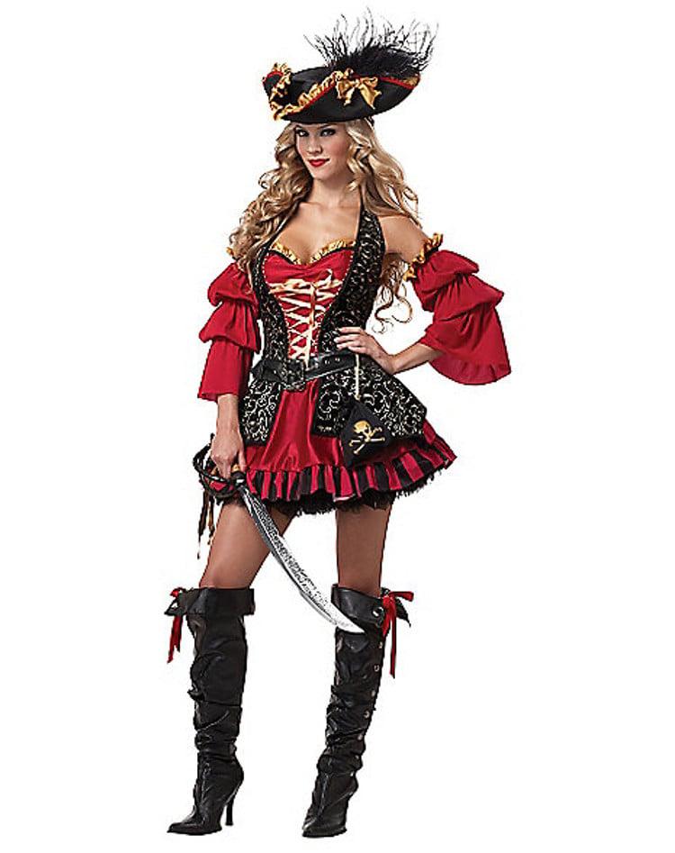 adult spanish pirate halloween costume