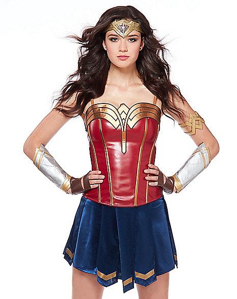 adult wonder woman halloween costume
