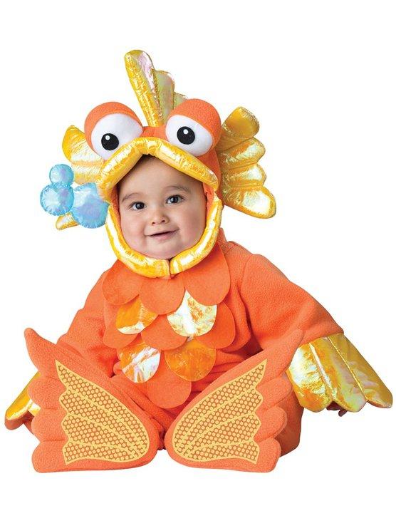 baby giggly goldfish halloween costume