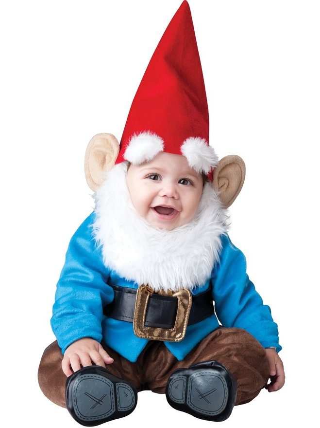 baby lil garden gnome halloween costume