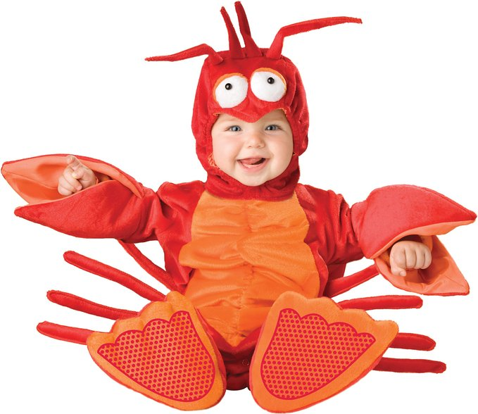 baby lil lobster halloween costume
