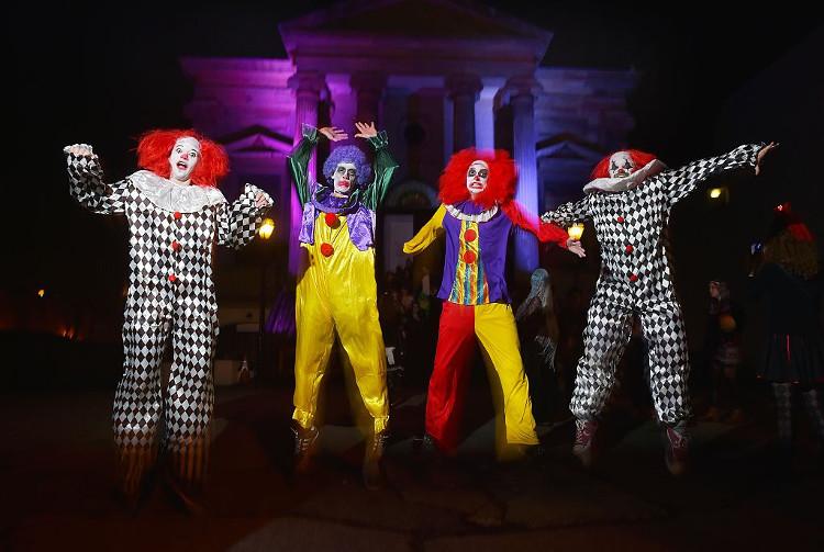 clowns halloween theme idea