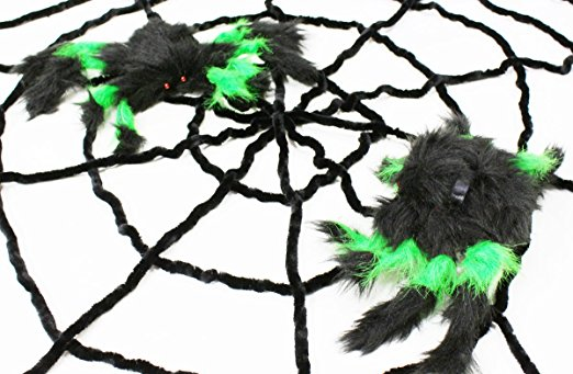 furry creatures halloween decoration