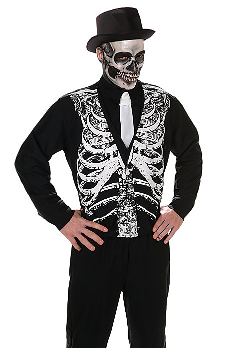 gentlemanly skeleton halloween costume