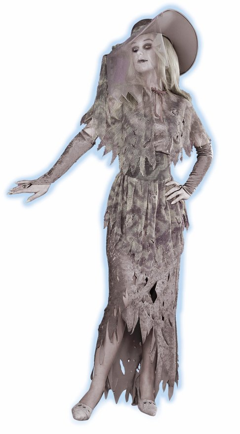 ghostly gal halloween costume