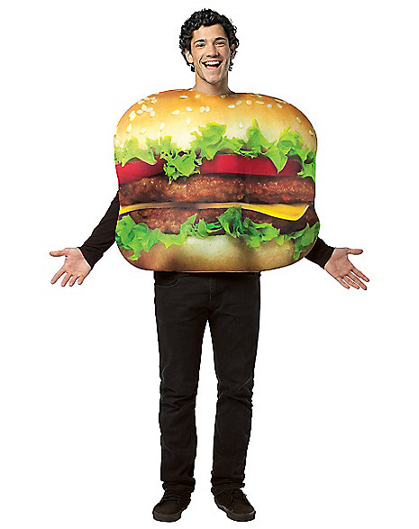 giant cheeseburger halloween costume