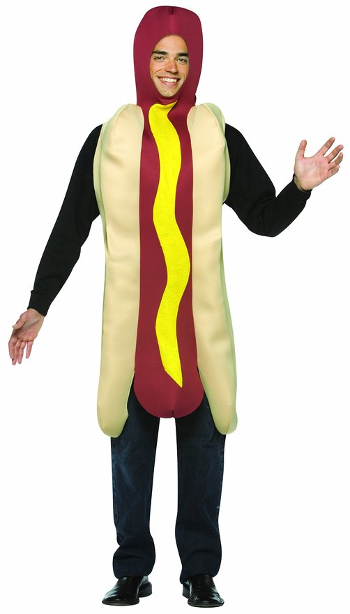 hot dog halloween costume
