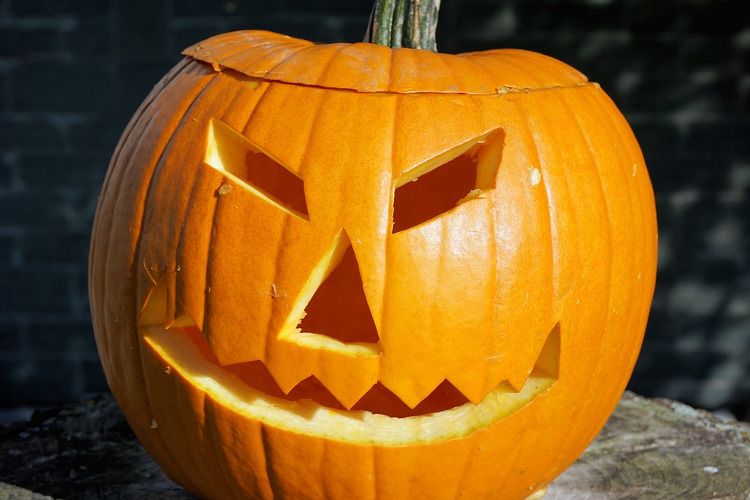 jack-o-lantern halloween idea