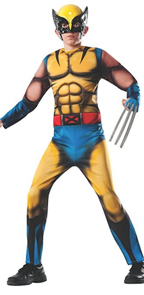 muscle chest wolverine halloween costume