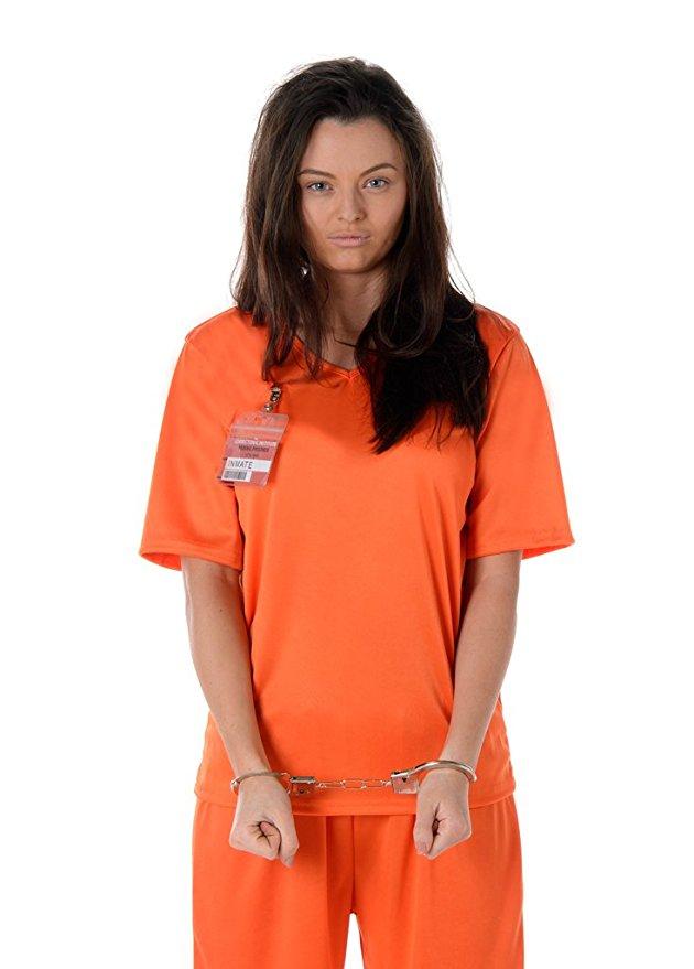 orange prisoner costume halloween