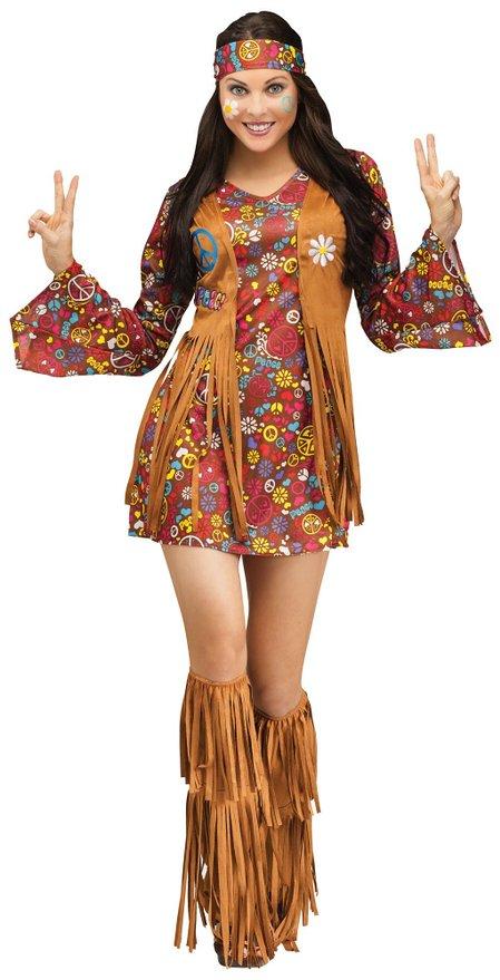 peace love hippie halloween costume