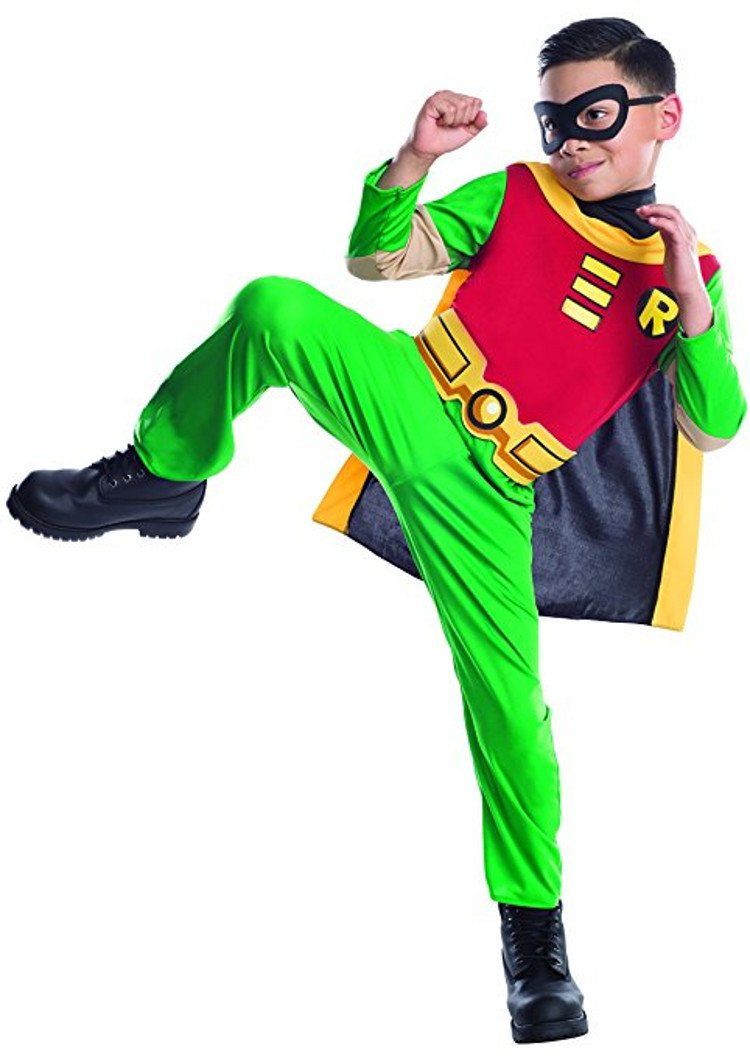 robin from teen titan halloween costume