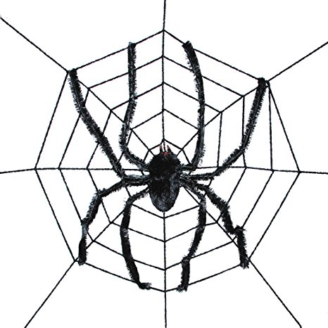 sunstar industries giant spider halloween decoration