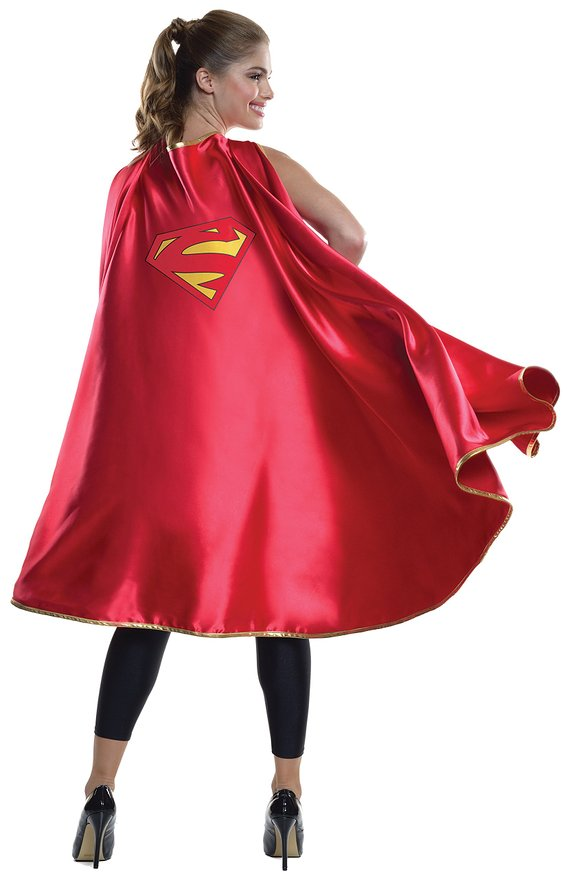 supergirl halloween cape