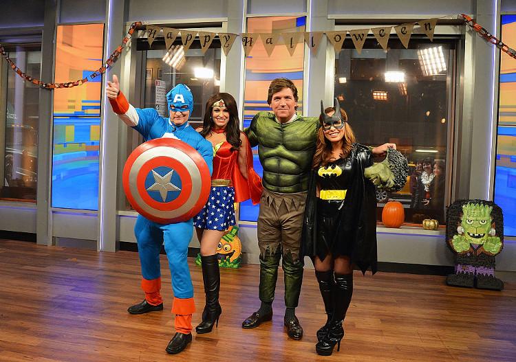 Photo: superheroes halloween theme