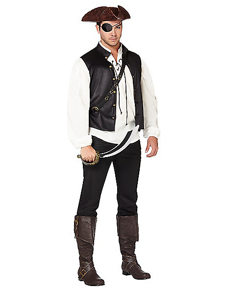 swashbuckling pirate halloween costume