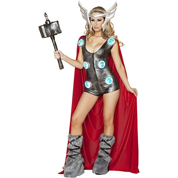 thor halloween costume for women