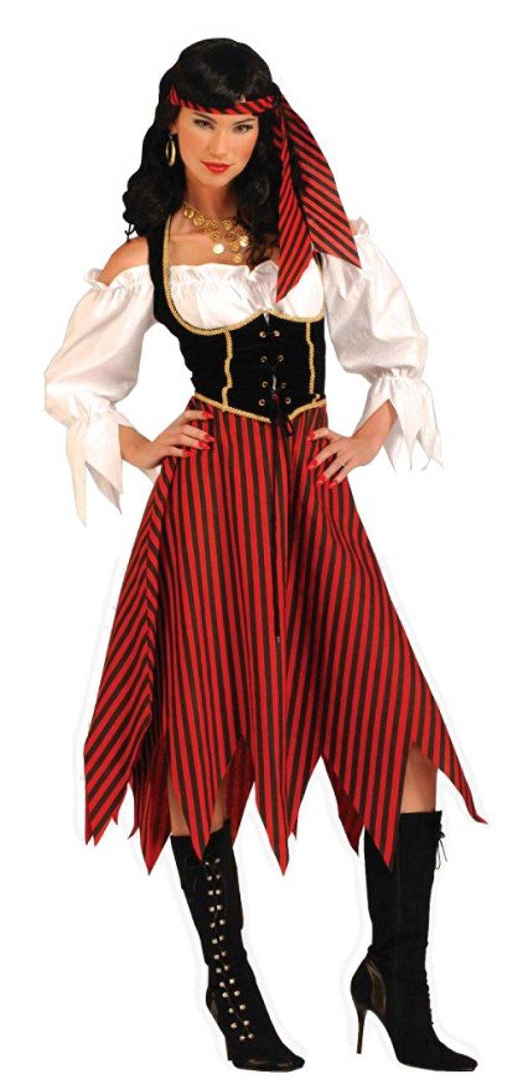 women adult pirate maiden halloween costume