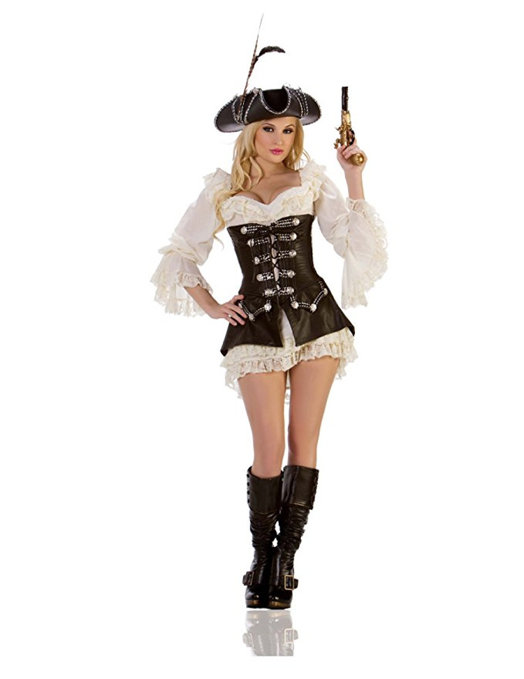 women rouge pirate halloween costume - Pirate Halloween Costume For Women