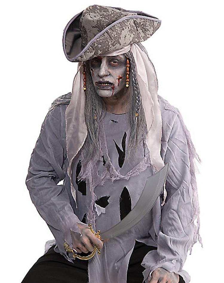 zombie pirate wig halloween costume