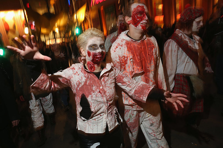zombies halloween themes