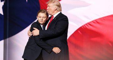 10 Photos of Barron Trump