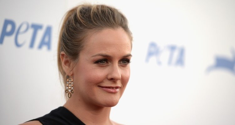 Alicia Silverstone Strips for Animals Rights